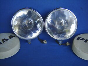 Vtg Pr 2 Piaa 7 Driving Fog 80 Lights lamp Rally Racing Street Track Motorsport