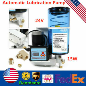 2l Electric Grease Oil Pump Automatic Lubricant Punching Butter D6mm Oiler Pump