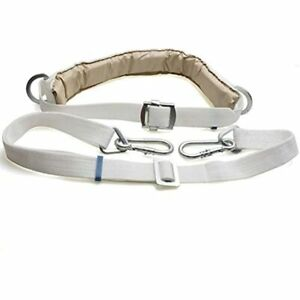 Safety Belt With Adjustable Lanyard Tree Climbing Construction Harness Gear