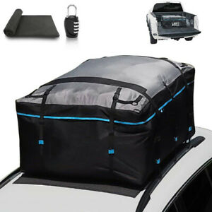 Car Roof Bag Waterproof 19cft Truck Pickup Carrier For All Car With Without Rack