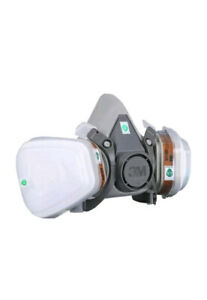 3m 6200 Respirator Painting Half Face Size Medium W Cartridge Filters