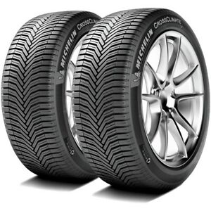 2 Michelin Crossclimate 195 65r15 95v Xl True All Season Summer Winter Tires