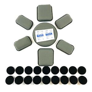 Skydex Helmet Pads w Velcro Brand Disks ACH MICH PASGT 1quot; Thick Pad System Kit $26.99