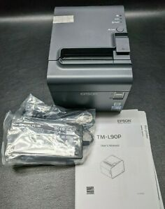 new Epson Tm l90p Pos Thermal Receipt Printer Model M313a Parallel Usb