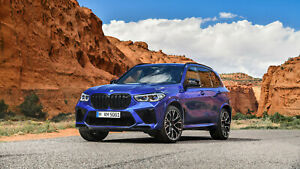New 2020 BMW X5 M Competition Auto Car Art Silk Wall Poster 24x36quot; $19.99