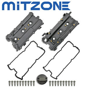 Valve Cover Set W Gasket For 02 09 I35 Nissan Altima Maxima Murano Quest 3 5l