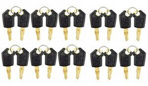 20 Keys For Cat Caterpillar Heavy Equipment Ignition Key 5p8500 With Logo