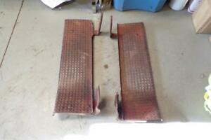 Original Ford 8n naa Tractor Step Running Boards Jubilee 8n Ford