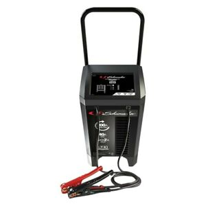 Schumacher 12v 200 Peak Amps Wheeled Automatic Battery Charger Engine Starter