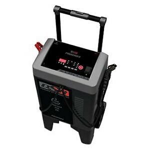 Pro Series 12v 50 Charging Amps Wheeled Battery Charger Engine Starter