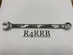 Snap On Tools Usa New 9 16 Sae Flank Drive Plus 12pt Chrome Combo Wrench Soex18