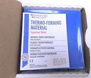 Henry Schein Thermo Forming Material Clear Surgical Tray 060 5 x5 25 Sheets