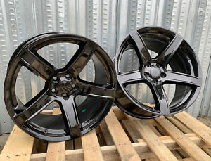 20x9 5 20x10 5 Concave Wheels Gloss Black 5x115 Chrysler 300c Challenger Charger