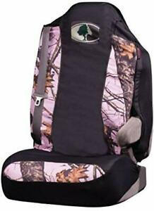 Mossy Oak Universal Seat Cover Pink Camo