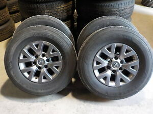 4 2017 Toyota Tacoma Factory 16 Alloy Wheels Tires 76x Oe 6 Lug