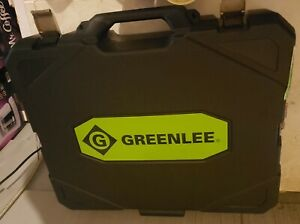 Greenlee Gator Battery Powered In line Cutter Blow Mold Case