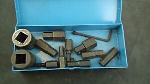 Cornwell Tools 1 2 Drive 11 Piece Large Hex Bits And 2 Ps 3214 Sockets Impact