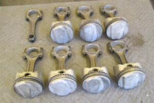 1970 Chevrolet 454 Ls6 Trw Forged Pistons Connecting Rods 7 16 Bolts Real Deal