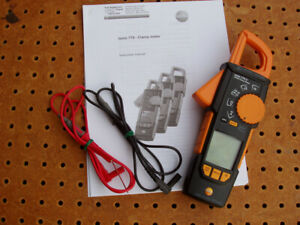 Testo Model 770 3 Digital Trms Clamp Meter Multimeter With Bluetooth Fair Cond