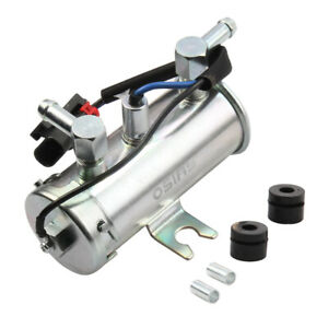 24v Electric Universal Petrol Diesel New Fuel Pump Facet Silver Style Tractor