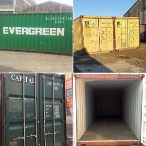 20ft 40ft Used Wind Watertight Shipping Containers cincinatt From 1300
