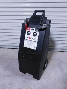 Solar Wheeled Jump Starter Charger 12v W O Battery Requires Group 31 Battery