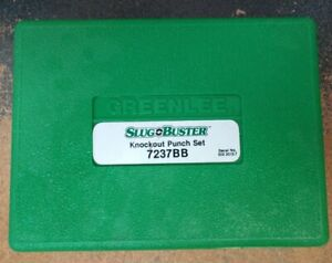 Greenlee Slug O Buster Knockout Punch Set 7237bb