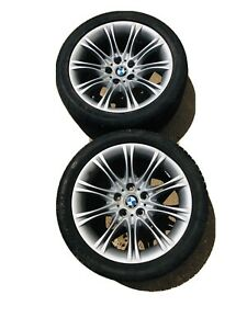 Bmw 5 series Rear Wheels And Tires Set