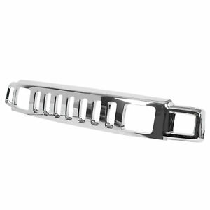 Front Chrome Grille Assembly For Hummer H3 2006 2007 2008 2009 2010 New