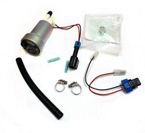 F90000274 In Tank E85 Fuel Pump W 0085 Installation Kit 450lph Racing For Walbro