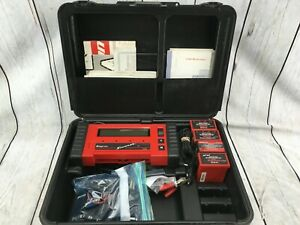 Snap on Scanner Kit W cartridges Cables Adapters Manuals And Keys Mt2500