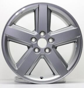 New 18 X 7 Silver Replacement Wheel Rim For 2007 2008 2009 2010 Dodge Avenger