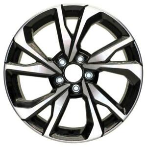 New 18 X 8 Replacement Wheel Rim For 2017 2018 2019 2020 Honda Civic Si Coupe