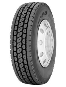 4 New Toyo M647 255 70r22 5 Load H 16 Ply Drive Commercial Tires