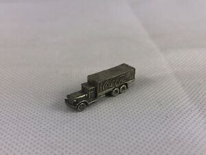 1999 Coca Cola Monopoly Game Token Delivery Truck Pewter Collectible Replacement
