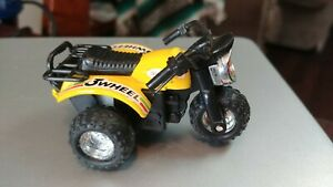 Vintage Toy Plastic 3 Wheeler Pull Back Yellow