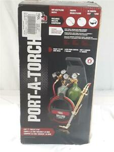 Lincoln Electric Kh990 Port a torch With Oxy acetylene Outfit