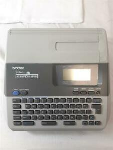 Brother P Touch Sc 100 Professional Stamp Creator