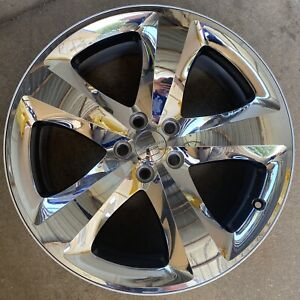 20 Inch Dodge Challenger Charger Oem Chrome Clad Wheel Rim 2411 2424 2011 2014