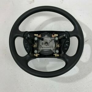 1999 2004 Oem Ford Mustang Charcoal Soft Padded Steering Wheel 99 04 S7225