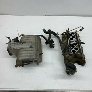 1996 1998 Oem Ford Explorer 5 0 V8 302 Gt40 Upper Lower Intake Manifold s7179