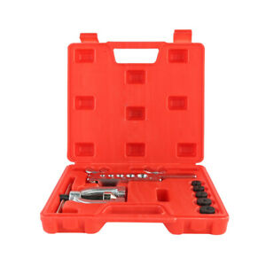 Double Flaring Brake Line Tool Kit Tubing Car Truck Copper Steel Tool With Case