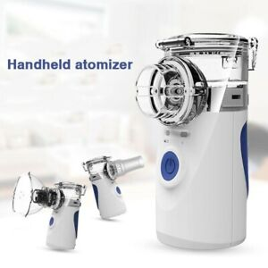 Handheld Portable Nebulize Machine Ultrasonic Inhaler Humidifier Respirator Us