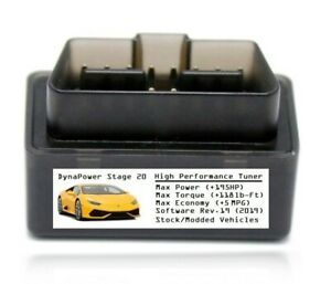 Stage 20 Tuner Chip Power Performance Add 195hp 5mpg For Dodge