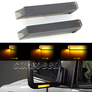 Sequential Led Under Side Mirror Light Turn Signal Lamp For Ford F 150 raptor