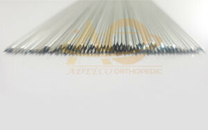 Kirschner K wire Pointed Ends 1 2 Mm X 20 Cm 100pcs Surgical Instruments