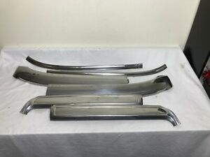1969 1970 Oem Mustang Shelby Cougar Convertible Windshield Trim Molding 6 Piece