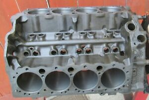 1967 Chevrolet Engine Block 3892657 D 18 7 Small Block Chevy 302 327 Blank Pad