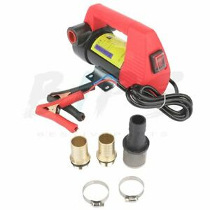 Electrical Oil Transfer Pump Extractor 12v Suction Oil Fluid Water Tool Auto