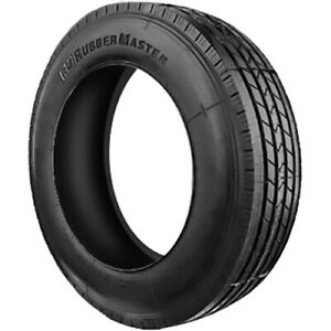 4 New Rubbermaster Rm87 St 235 75r17 5 Load H 16 Ply Trailer Tires